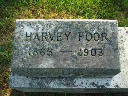 FOOR, HARVEY - Fairfield County, Ohio | HARVEY FOOR - Ohio Gravestone Photos
