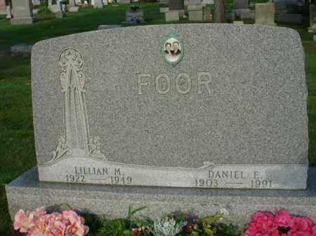 FOOR, DANIEL E. - Fairfield County, Ohio | DANIEL E. FOOR - Ohio Gravestone Photos