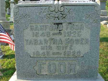 BOWER FOOR, TABARTHA - Fairfield County, Ohio | TABARTHA BOWER FOOR - Ohio Gravestone Photos