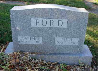 FORD, RUTH - Fairfield County, Ohio | RUTH FORD - Ohio Gravestone Photos