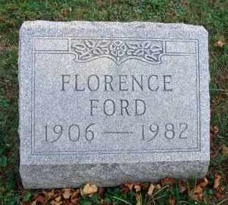 FORD, FLORENCE - Fairfield County, Ohio | FLORENCE FORD - Ohio Gravestone Photos