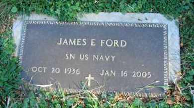 FORD, JAMES E. - Fairfield County, Ohio | JAMES E. FORD - Ohio Gravestone Photos
