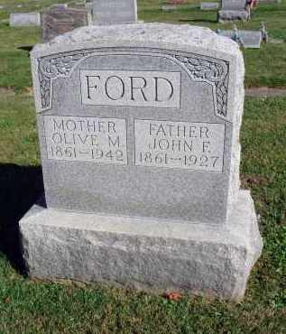 FORD, OLIVE M. - Fairfield County, Ohio | OLIVE M. FORD - Ohio Gravestone Photos