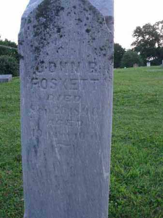 FOSKETT, JOHN R. - Fairfield County, Ohio | JOHN R. FOSKETT - Ohio Gravestone Photos