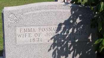 POTTS FOSNAUGH, EMMA - Fairfield County, Ohio | EMMA POTTS FOSNAUGH - Ohio Gravestone Photos