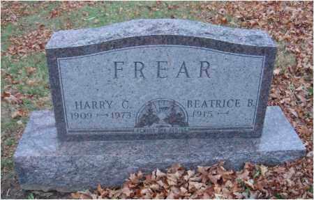 FREAR, HARRY C. - Fairfield County, Ohio | HARRY C. FREAR - Ohio Gravestone Photos