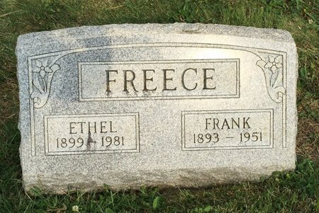 FREECE, ETHEL - Fairfield County, Ohio | ETHEL FREECE - Ohio Gravestone Photos