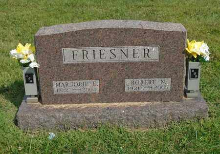 FRIESNER, ROBERT N. - Fairfield County, Ohio | ROBERT N. FRIESNER - Ohio Gravestone Photos