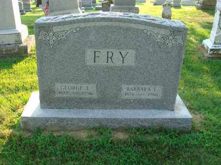 FRY, BARBARA E. - Fairfield County, Ohio | BARBARA E. FRY - Ohio Gravestone Photos