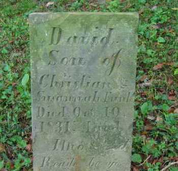 FUNK, DAVID - Fairfield County, Ohio | DAVID FUNK - Ohio Gravestone Photos