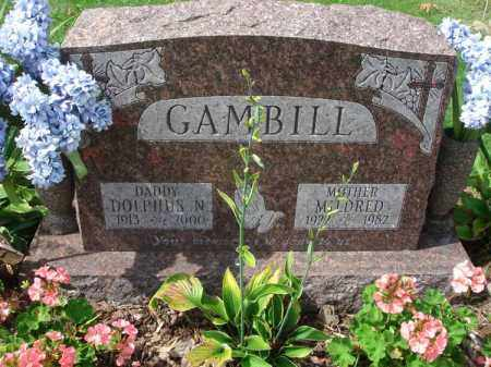 GAMBILL, MILDRED - Fairfield County, Ohio | MILDRED GAMBILL - Ohio Gravestone Photos