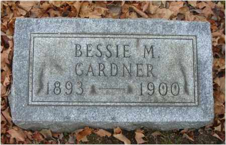 GARDNER, BESSIE M. - Fairfield County, Ohio | BESSIE M. GARDNER - Ohio Gravestone Photos