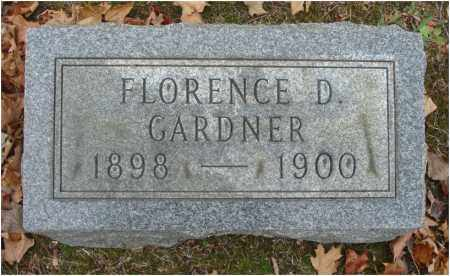 GARDNER, FLORENCE D. - Fairfield County, Ohio | FLORENCE D. GARDNER - Ohio Gravestone Photos