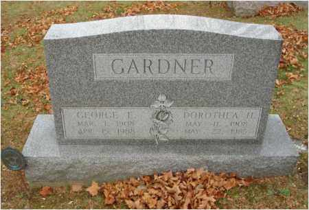 GARDNER, GEORGE E. - Fairfield County, Ohio | GEORGE E. GARDNER - Ohio Gravestone Photos