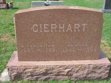 GIERHART, GEORGE J. - Fairfield County, Ohio | GEORGE J. GIERHART - Ohio Gravestone Photos