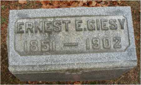 GIESY, ERNEST E. - Fairfield County, Ohio | ERNEST E. GIESY - Ohio Gravestone Photos
