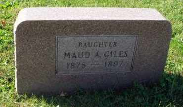GILES, MAUD A. - Fairfield County, Ohio | MAUD A. GILES - Ohio Gravestone Photos