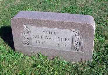 GILES, MINERVA J. - Fairfield County, Ohio | MINERVA J. GILES - Ohio Gravestone Photos