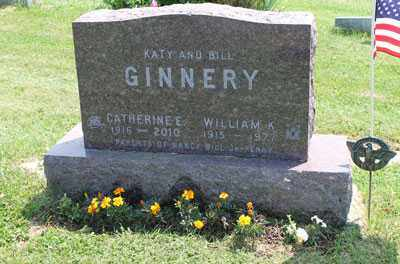 MCCRADY GINNERY, CATHERINE - Fairfield County, Ohio | CATHERINE MCCRADY GINNERY - Ohio Gravestone Photos