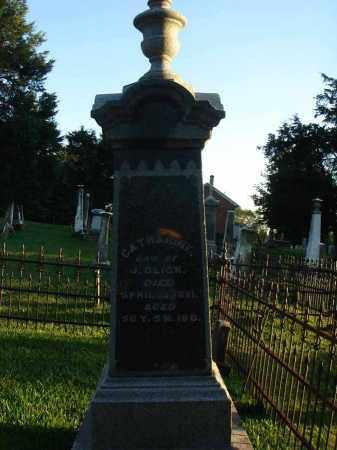 GLICK, CATHARINE - Fairfield County, Ohio | CATHARINE GLICK - Ohio Gravestone Photos