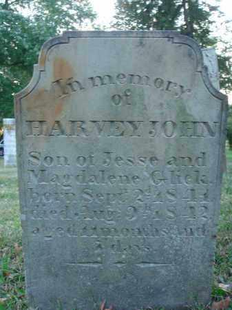GLICK, HARVEY JOHN - Fairfield County, Ohio | HARVEY JOHN GLICK - Ohio Gravestone Photos