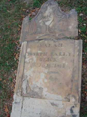 GLICK, SARAH - Fairfield County, Ohio | SARAH GLICK - Ohio Gravestone Photos