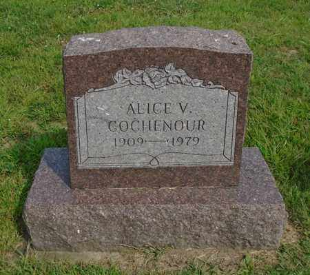 GOCHENOUR, ALICE V. - Fairfield County, Ohio | ALICE V. GOCHENOUR - Ohio Gravestone Photos