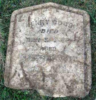 GOOD, HENRY - Fairfield County, Ohio | HENRY GOOD - Ohio Gravestone Photos