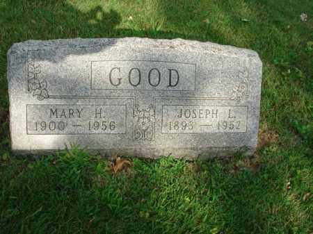 GOOD, MARY H. - Fairfield County, Ohio | MARY H. GOOD - Ohio Gravestone Photos