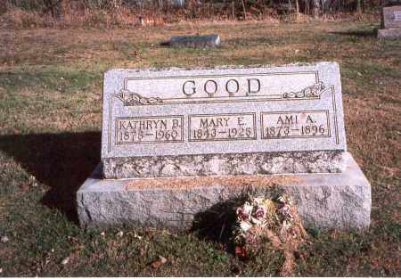 GOOD, AMI A. - Fairfield County, Ohio | AMI A. GOOD - Ohio Gravestone Photos