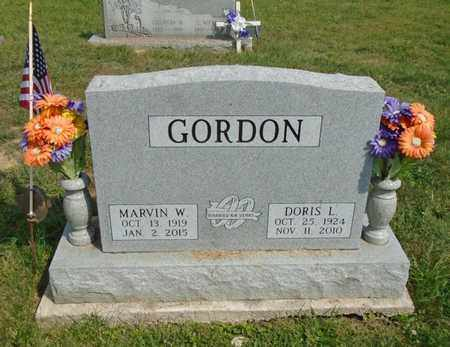 GORDON, DORIS L - Fairfield County, Ohio | DORIS L GORDON - Ohio Gravestone Photos