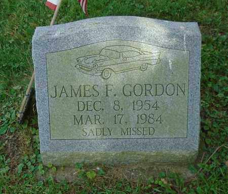 GORDON, JAMES F. - Fairfield County, Ohio | JAMES F. GORDON - Ohio Gravestone Photos