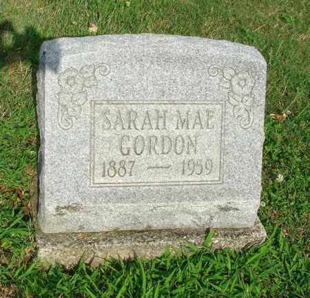 GORDON, SARAH MAE - Fairfield County, Ohio | SARAH MAE GORDON - Ohio Gravestone Photos