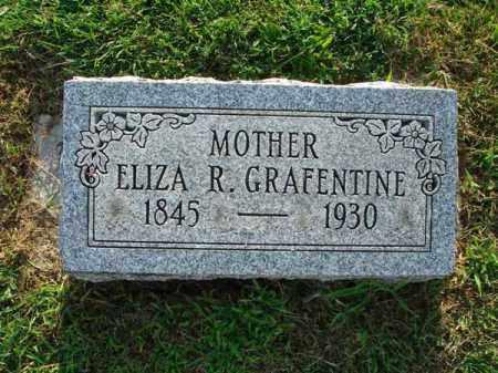 GRAFENTINE, ELIZA R. - Fairfield County, Ohio | ELIZA R. GRAFENTINE - Ohio Gravestone Photos