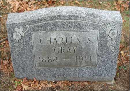 GRAY, CHARLES S. - Fairfield County, Ohio | CHARLES S. GRAY - Ohio Gravestone Photos