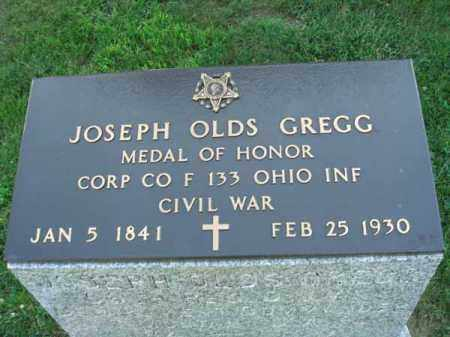 GREGG, JOSEPH OLDS - Fairfield County, Ohio | JOSEPH OLDS GREGG - Ohio Gravestone Photos