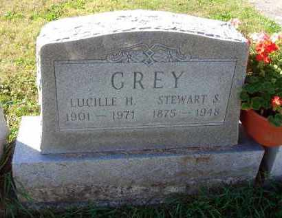 GREY, STEWART S. - Fairfield County, Ohio | STEWART S. GREY - Ohio Gravestone Photos