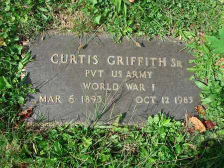 GRIFFITH, CURTIS - Fairfield County, Ohio | CURTIS GRIFFITH - Ohio Gravestone Photos