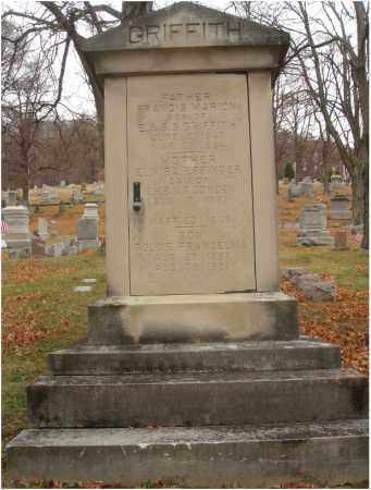 GRIFFITH, FRANCIS MARION - Fairfield County, Ohio | FRANCIS MARION GRIFFITH - Ohio Gravestone Photos
