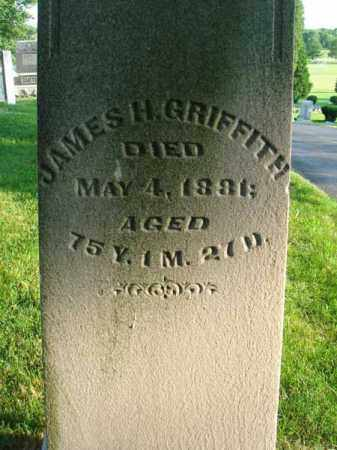 GRIFFITH, JAMES H. - Fairfield County, Ohio | JAMES H. GRIFFITH - Ohio Gravestone Photos