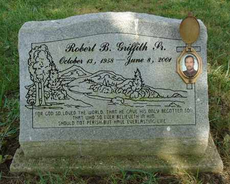 GRIFFITH, ROBERT B. SR. - Fairfield County, Ohio   ROBERT B. SR. GRIFFITH - Ohio Gravestone Photos