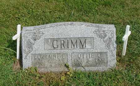 GRIMM, OTTIE O. - Fairfield County, Ohio | OTTIE O. GRIMM - Ohio Gravestone Photos