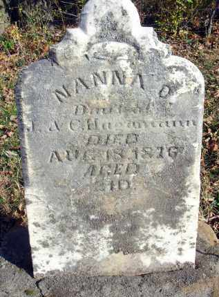 HAGAMANN, NANNA O. - Fairfield County, Ohio | NANNA O. HAGAMANN - Ohio Gravestone Photos