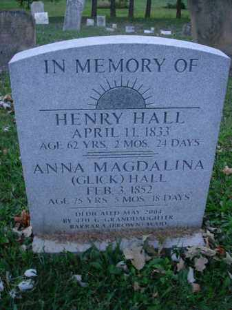 HALL, ANNA MAGDALENA - Fairfield County, Ohio | ANNA MAGDALENA HALL - Ohio Gravestone Photos