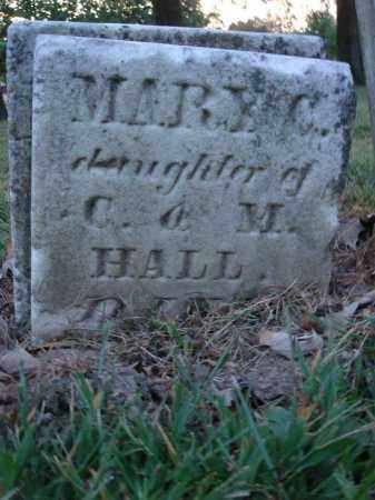 HALL, MARY C. - Fairfield County, Ohio | MARY C. HALL - Ohio Gravestone Photos