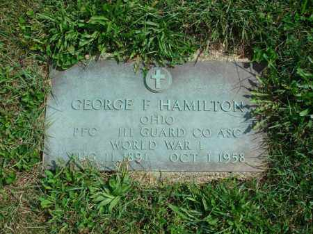 HAMILTON, GEORGE F. - Fairfield County, Ohio | GEORGE F. HAMILTON - Ohio Gravestone Photos