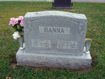 HANNA, GLADYS L. - Fairfield County, Ohio | GLADYS L. HANNA - Ohio Gravestone Photos
