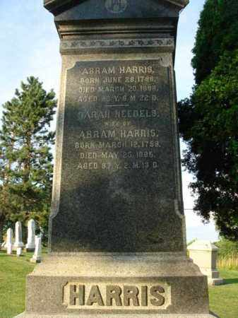 HARRIS, ABRAM - Fairfield County, Ohio | ABRAM HARRIS - Ohio Gravestone Photos