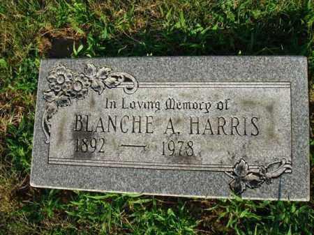 HARRIS, BLANCHE A. - Fairfield County, Ohio | BLANCHE A. HARRIS - Ohio Gravestone Photos