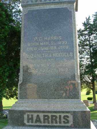 NEEDELS HARRIS, ELIZABETH J. - Fairfield County, Ohio | ELIZABETH J. NEEDELS HARRIS - Ohio Gravestone Photos
